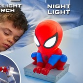 veioza-de-veghe-2-in-1-spiderman-words-apart
